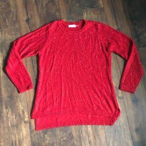 2/$20 SALE🎉 Sequin Calvin Klein Sweater L